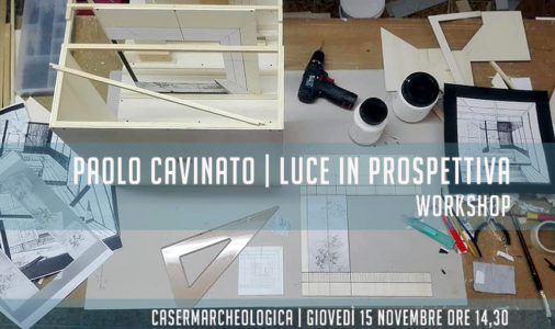 Workshop con Paolo Cavinato